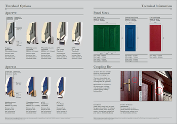 Apeer Door Collection Specifications